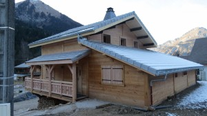 Extension agrandissement chalet